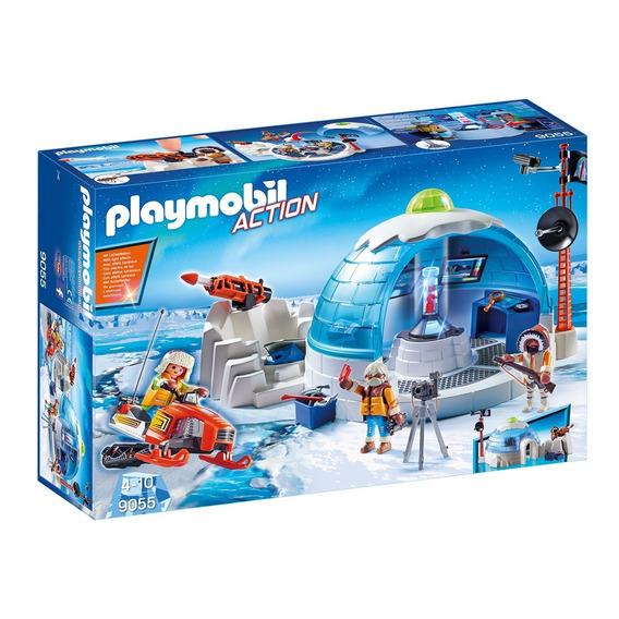 Central Da Expedição Polar Action Original Playmobil 9055