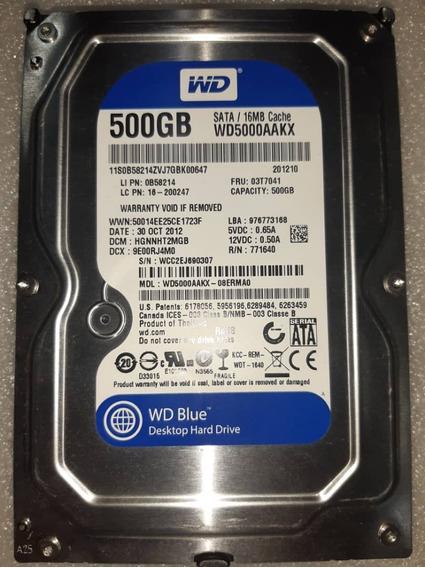 Disco Duro Wd 500gb 3.5 Sata Dvr 7200rpm