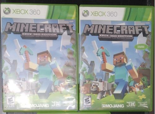 Juego Físico Original Minecraft Xbox 360 Tienda Xbox One