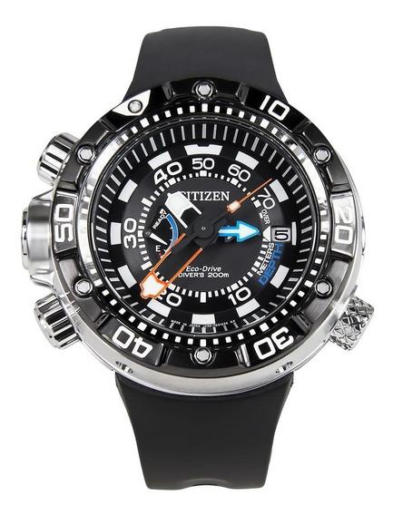 Relógio Citizen Aqualand Eco-drive Bn2024-05e 12 X Sem Juros