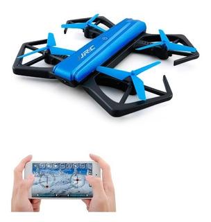 Mini Drone H43 Blue Crab Camara Filma Celular iPhone Android