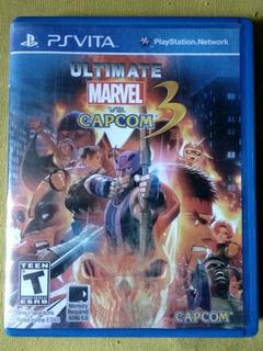 Marvel Vs Capcom 3 Ps Vita Usado Funcionando Venta O Cambio