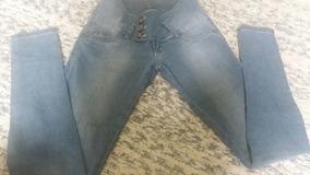 Calça Sawary Jeans Levanta Bumbum C/elastano Tamanho 38