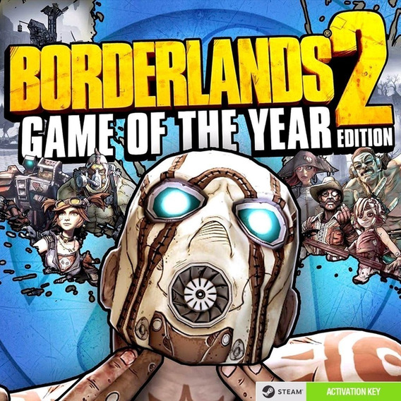 Borderlands 2 Game Of The Year Edition Pc Steam Key