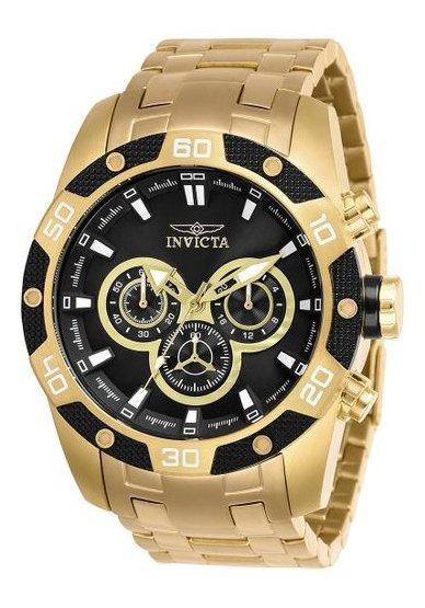 Relógio Invicta Speedway Scuba Men - Dourado