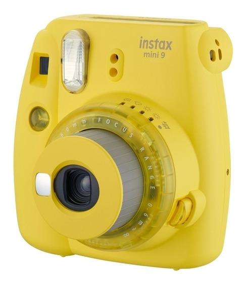 Cámara Instanx Mini 9 Amarilla Edición Limita +10 Fotos