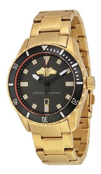 Relógio Armani Exchange Gold Ax1710
