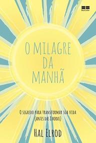 Livro O Milagre Da Manhã Best Seller