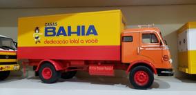Miniatura Caminhão Mercedes Benz Casas Bahia 1:43