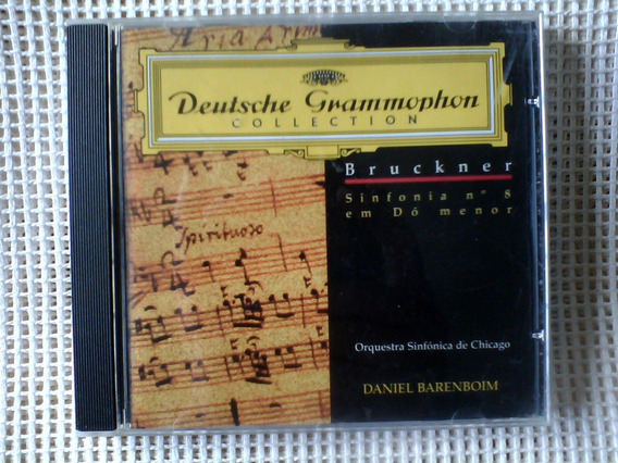 Bruckner Sinfonia Nº 8 Barenboim