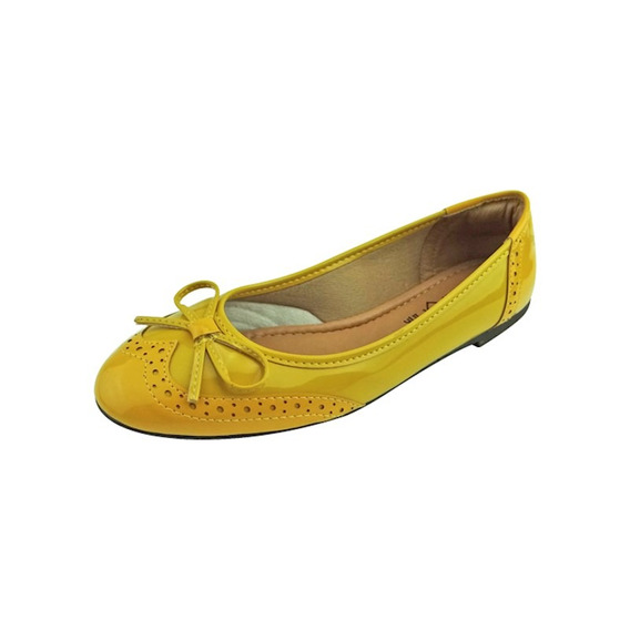 Sapatilha Verniz - Amarela