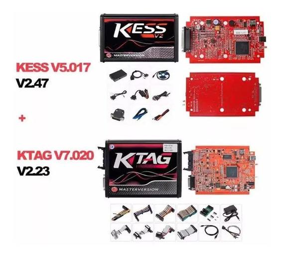 Kit Kess V2.47 V5.017 + Ktag K-tag V2.25 7.020 Português
