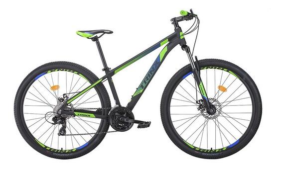 Bicicleta Trinx Mtb M100 Pro Aro 29 Quadro 19 Shimano Tourney E Freio Mecânico