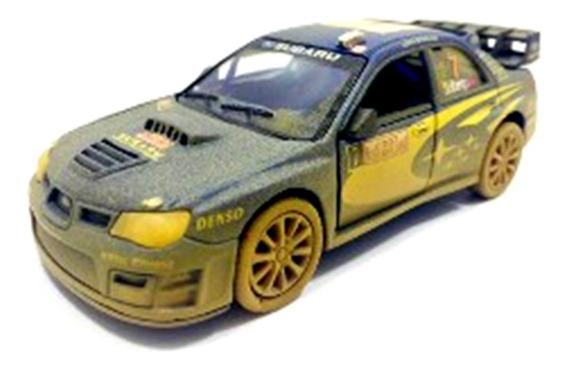 Subaru Impreza Wrc Rally 2007 Enlameado Sujo - Escala 1/32