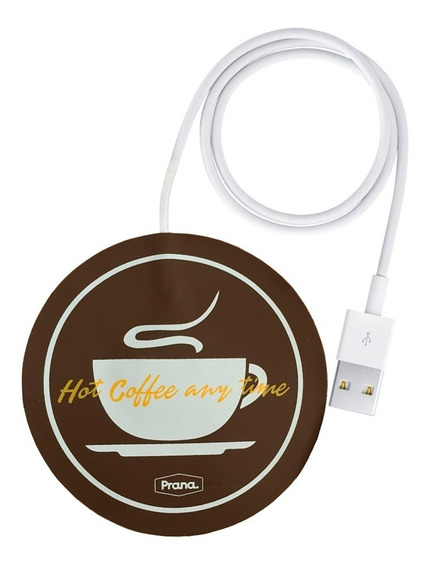 Aquecedor Para Xícara Caneca Com Usb Notebook Café Prana