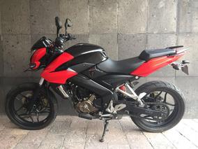 Pulsar 200cc Roja Como Nueva!