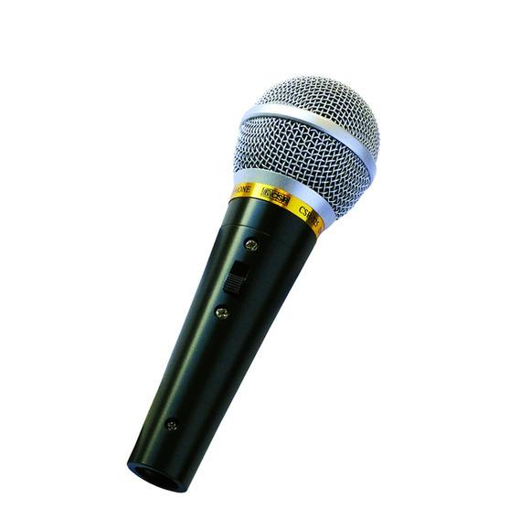 Microfone Dinâmico Com Fio Profissional Csr 525 Top