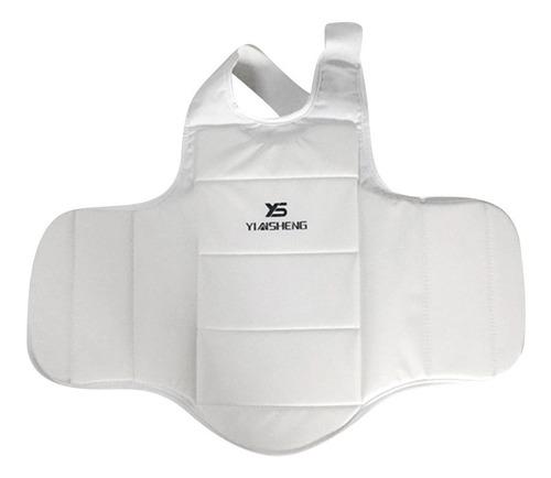 Gazechimp Chaqueta Protector de Pecho de Karate Taekwondo Sanda Entrenamiento Competici/ón Unisex Adulto Duradero