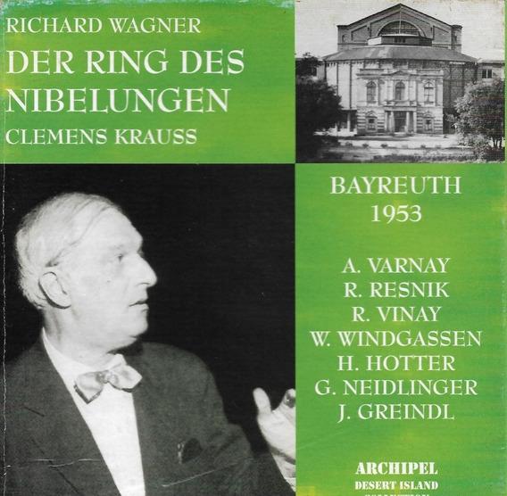 Box 13 Cd Wagner Der Ring Des Nibelungen Cleman Krauss 1953