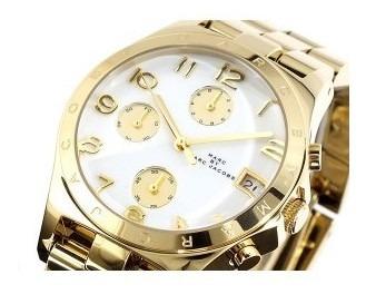 Relógio Marc Jacobs Mbm3039 Dourado
