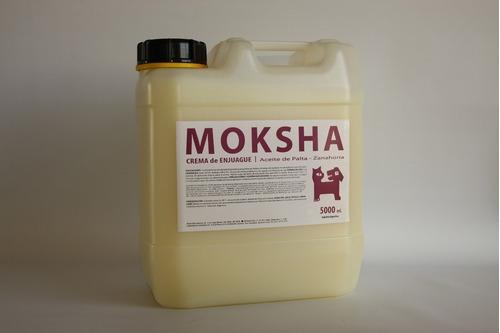 Crema De Enjuague Con Aceite De Palta-zanahoria Moksha X 5 L