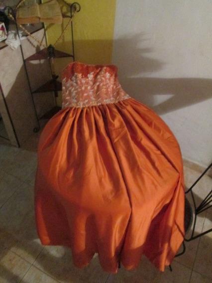 Vestido Ideal Para 15 Años O Bodas Talla M