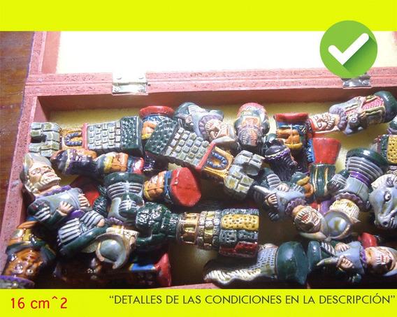 Ajedrez Cuadrado Mini Peruano Decoración (usado)