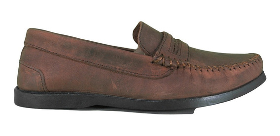 Zapatos Nautico Oxido Con Vincha Sommet 1109 Hombre Lujandro