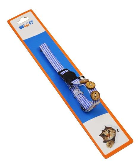 Collares Para Perros Y Gatos Gamuzado Talla Xs Woof!