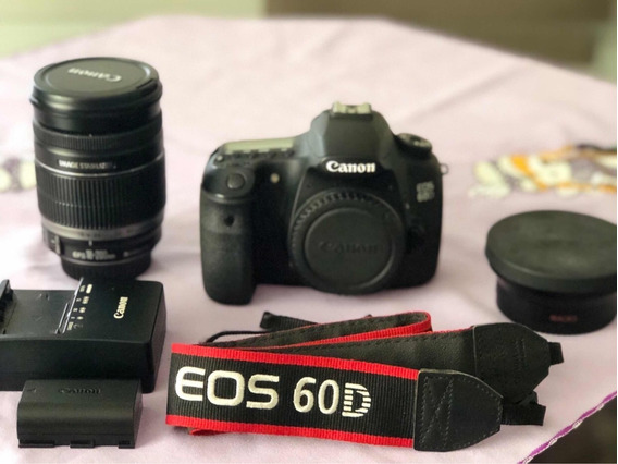 Vendo Câmera Cânon 60d