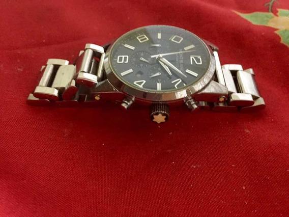 Relógio Montblanc Timewalker ( Com Desconto ) Semi Novo
