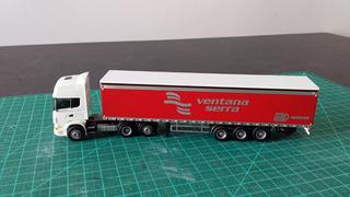 Scania Topline C/ Carreta Ventana Serra/arcese Ho