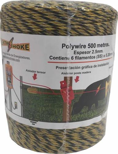 Polywire 500m Elektrochoke Cercos Eléctricos