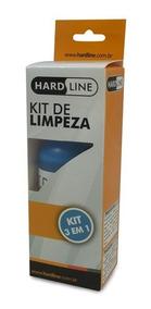Kit Limpeza De Tela Hard Line