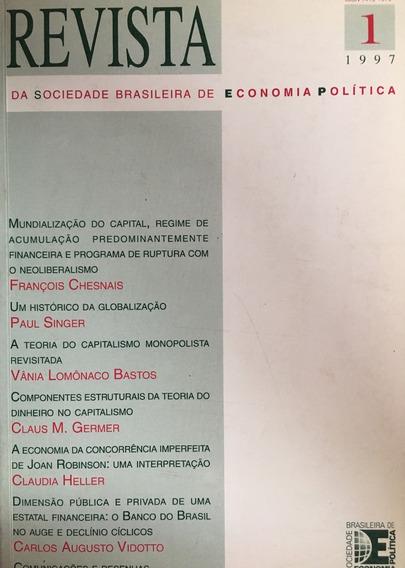 Livro Revista Da Sociedade Brasileira De Economia Política