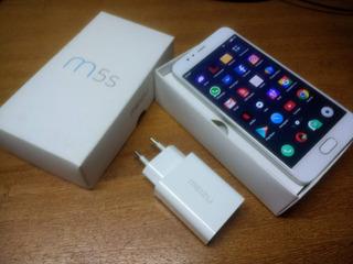 Smartphone Meizu M5s 5,5 Octacore 3gb Ram 32gb Prata