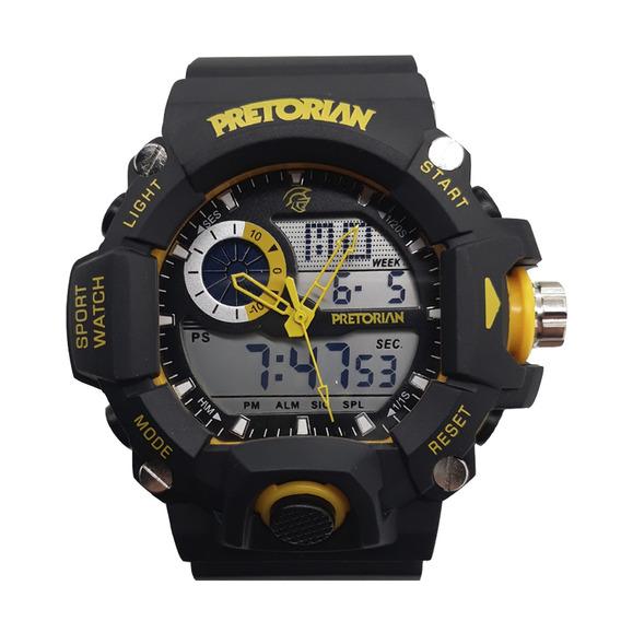 Relógio Pretorian Army Black/ Yellow ( Wprt-04-2)