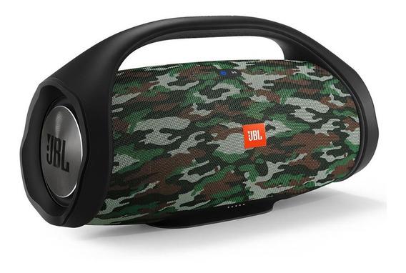 Caixa Jbl Boombox 60w Rms Bluetooth Camuflado Original