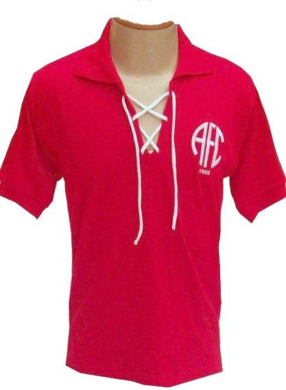 Camisa Retrô América Do Rio De Janeiro Com Cordinha + Nome