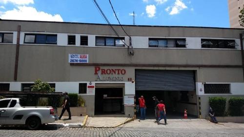 Galpão Para Alugar, 2070 M² Por R$ 40.000,00/mês - Tatuapé - São Paulo/sp - Ga0378