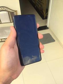 Galaxy S9 C Carregador Sem Fio! (menos De 1 Semana De Uso)