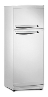 Heladera Bambi 2F1200 blanca con freezer 239L 220V