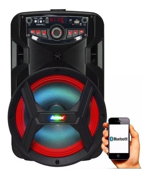 Caixa De Som Amplificada Bluetooth C/ Função Karaokê - Amvox