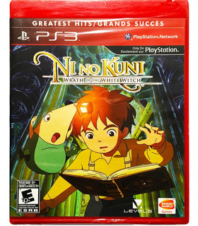 Ni No Kuni Wrath Of The White Witch Nuevo Ps3 Playstation 3