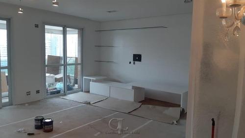Brooklin - Apartamento Com 03 Suítes E Ar Condicio - 4245-2