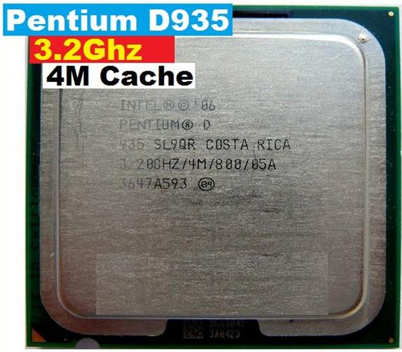 Processador Pentium D 935 3.2 Ghz Dual Core 4 M Cache 775