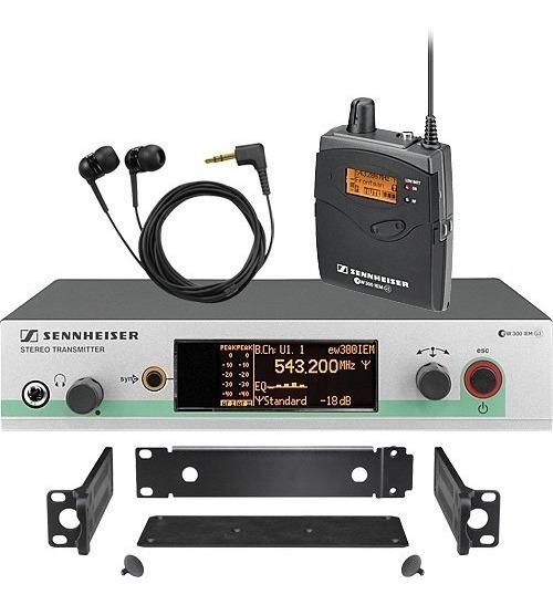 Sennheiser In Ear Ew 300 G3 Iem Transmissor Made Germany