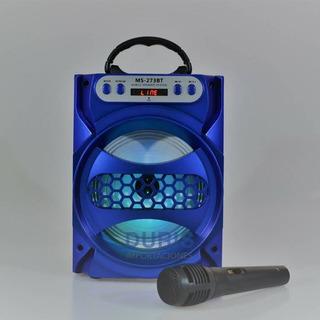 Ms-273bt Parlante Bluetooth Portatil Musica