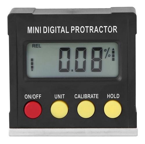 Inclinómetro Transportador Nivel Digital Medidor Angulo