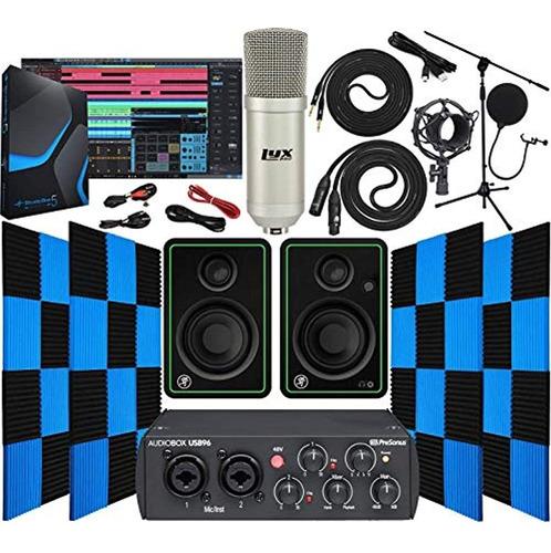 Imagen 1 de 5 de Presonus Audiobox 96 Interfaz De Audio Usb 2.0 Con Mackie Cr
